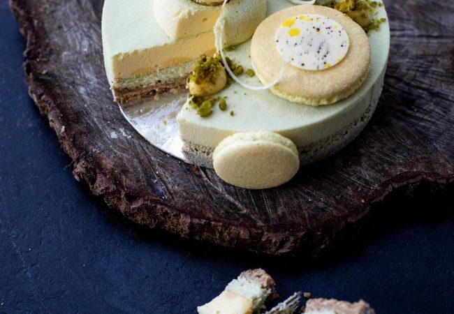Pistachio NYC -juustokakku