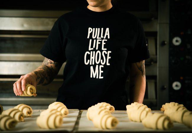 Pulla Life Chose Me t-paita